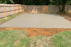 Concrete Pad for a Building Northern VA