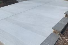 Concrete Parking Area Fairfax Station VA